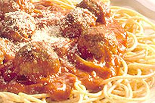 Spaghetti et boulettes de viande sans façon Image 1