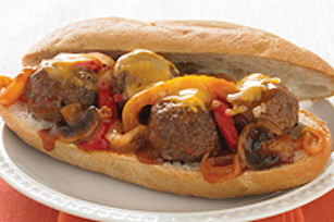 Last-Minute Meatball Sandwich Image 1