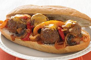 Sandwich de dernière minute aux boulettes de viande Image 1