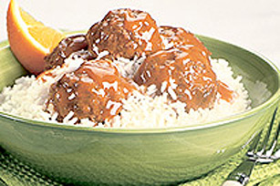 Saucy Meatball Supper Image 1