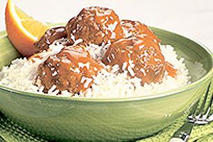 Repas de boulettes de viande en sauce Image 1