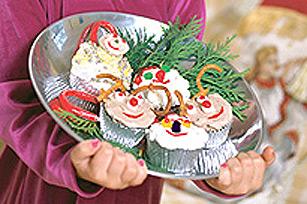 Petits gâteaux au chocolat festifs