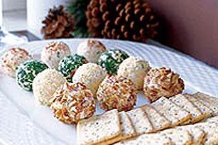 Truffes au fromage des fêtes