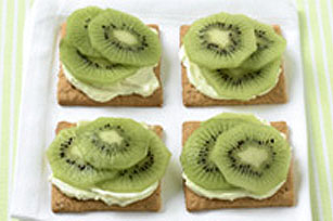 Fruit-Topped Wafers Image 1