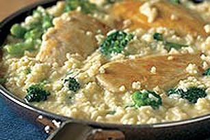 Brocoli, riz et poulet au fromage Image 1