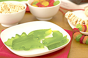 Green JELL-O JIGGLERS Shapes