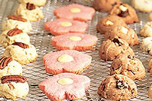 Biscuits faciles à préparer – Fleurs JELL-O Image 1