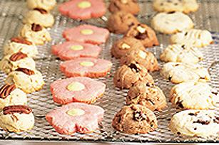 Biscuits faciles à préparer aux deux chocolats Image 1