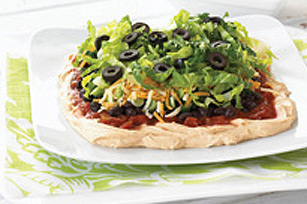 No-Fuss Mexican Layered Dip