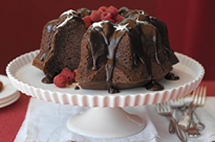Triple-Chocolate Bliss Cake