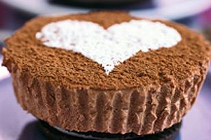 Gâteaux au fromage  PHILADELPHIA et au chocolat pour deux