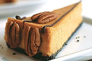 Gâteau au fromage et à la citrouille festif Image 1