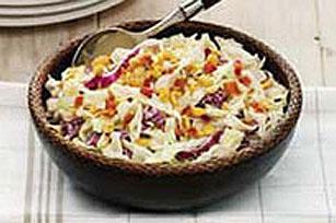 Salade de chou au bacon et aux arachides