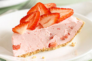 JELL-O Fruity Strawberry Pie