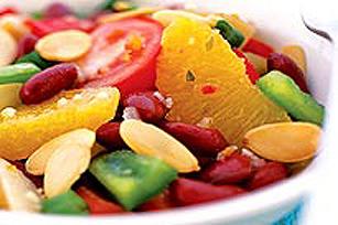Salade aux haricots rouges et aux oranges Image 1