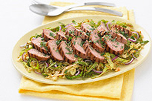 Thai Pork with Savoy Cabbage