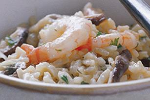 Risotto aux oignons caramélisés et crevettes pour la semaine Image 1