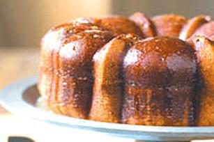 Gâteau au pouding, aux pacanes et au rhum Image 1