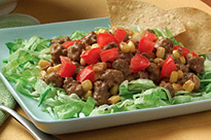 Easy Beef Taco Salad Image 1