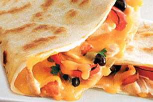 Cheesy Fajita Quesadillas