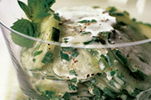 Cucumber-Mint Salad Image 1