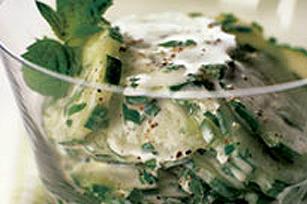 Salade de concombre à la menthe Image 1