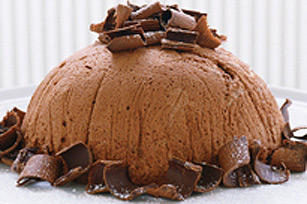 Chocolate Mousse Bombe