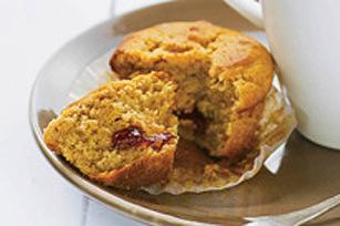 Muffins au beurre d'arachide et à la confiture Image 1