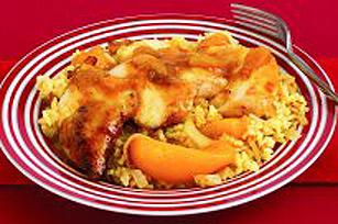 Poêlée de poulet Madras Image 1