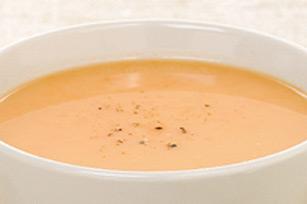 Soupe aux carottes et au gingembre