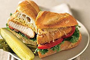 Sandwich au poulet croustillant Image 1