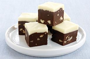 Fudge étagé au chocolat