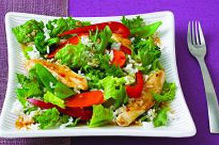 Sauté en salade avec riz Image 1