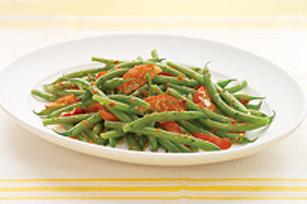 Haricots verts et tomates à l'italienne Image 1