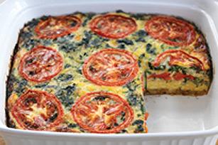 Plat de légumes étagés au four facile Image 1