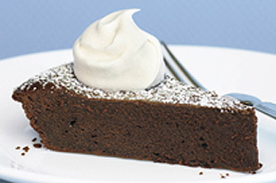 Exquisite Dark Chocolate Truffle Pie Image 1