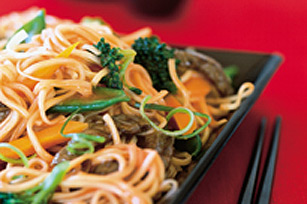Asian Beef Noodle Stir-Fry Image 1