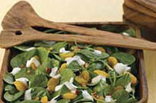 Salade aux épinards et à la mandarine Image 1