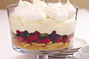 Spring Fruit Trifle