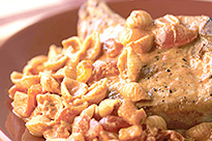 Chili Pasta & Pork Chops Image 1