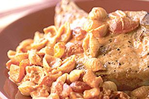 Pâtes au chili avec côtelettes de porc Image 1