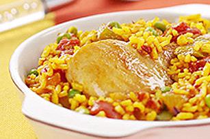Poulet et riz à l'espagnole Image 1