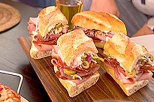 Make-Ahead Hero Sandwiches Image 1