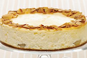 Gâteau au fromage aux poires et au gingembre cuit au four