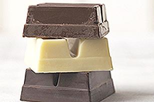 Cœurs en chocolat pleins Image 1