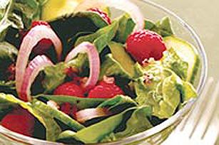 Salade d'été aux épinards