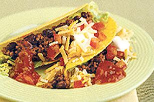 Beef 'n Bean Tacos