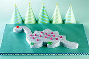 Gâteau d'anniversaire dinosaure Image 1