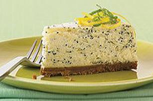 Gâteau au fromage aux agrumes et graines de pavot