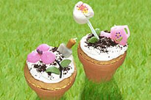 Gâteaux pots de fleur Image 1